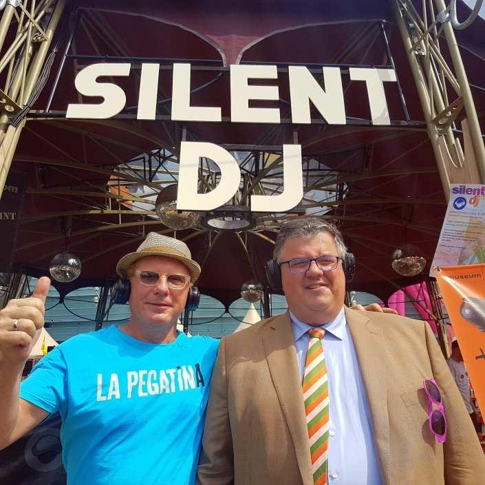silent disco Burgemeester Hubert Bruls Nijmegen
