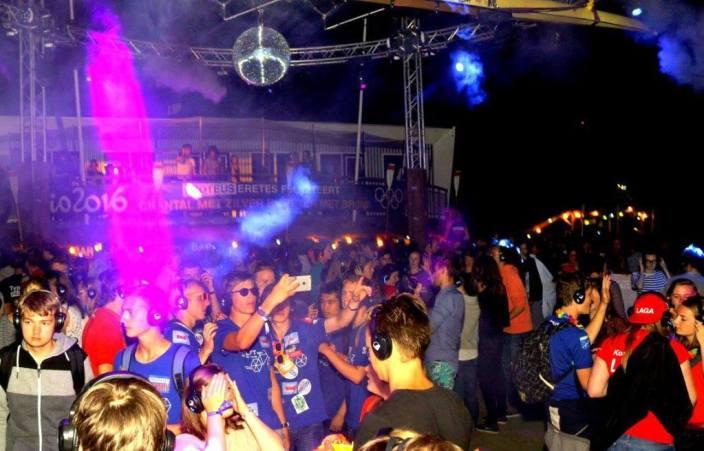silent disco studentenvereniging intro feest studenten | SilentDJ.com
