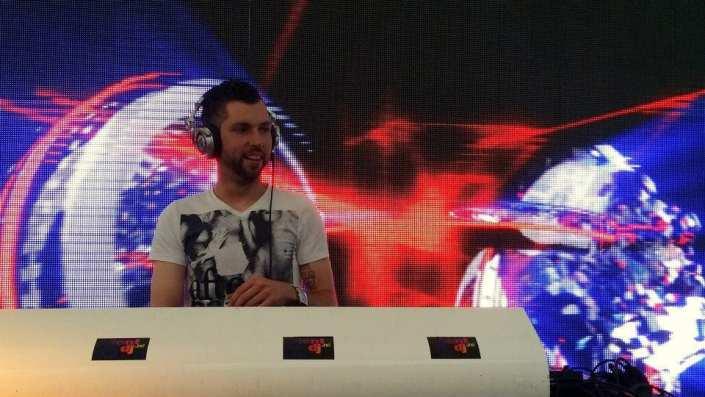 VJ silent disco DJ Vestrock