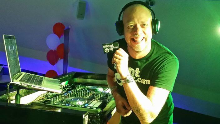 DJ Michael FD - silent disco DJ silentDJ