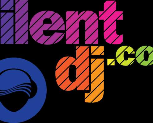 SilentDJ.com - silent disco logo - silentdj-com-color options