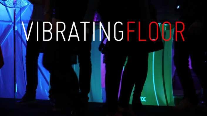 vibrating floor