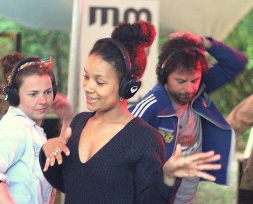 Wereldmuziek silent disco bij Music MeetingPark Brakkenstein Nijmegen
