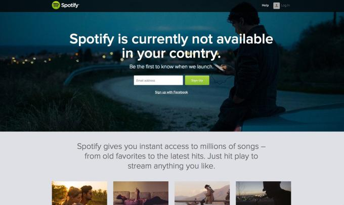 spotify in restricted countries