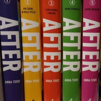 """Sì, ho letto tutti e cinque i libri di """"After"""""""