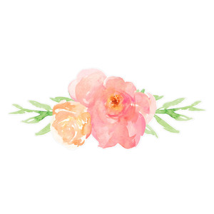 Silhouette Design Store   View Design  188653  cute watercolor     cute watercolor flower bouquet