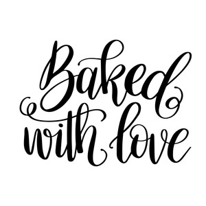 Download Silhouette Design Store - View Design #194884: baked with love