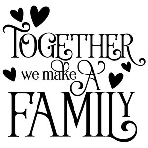 Download Silhouette Design Store - View Design #268465: together we ...