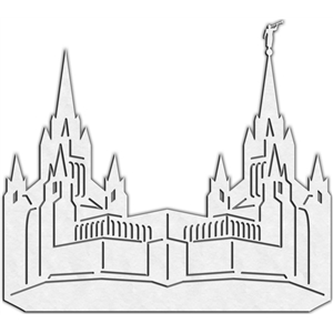Silhouette Design Store View Design 12646 Lds Temple