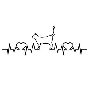 Download Silhouette Design Store - View Design #150656: love cats ...