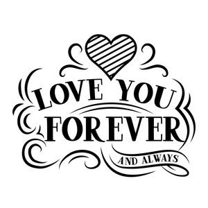 Download Silhouette Design Store - View Design #243457: love you ...