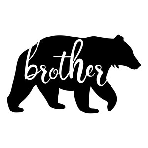Silhouette Design Store View Design 252928 Brother Bear