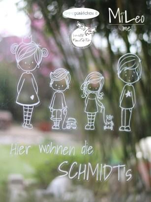 emmapünktchen ® – Messlatte Jungs und Mädchen, little chauffeur und little girlie