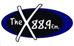 The X 88.9 FM Logo