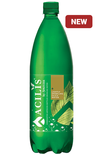 acilis by spritzer bottled sparkling water