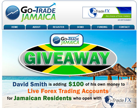 David Smith S Olint Partners With Itradefx In A Us 100 Giveaway To -