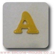 Alphabet Silicone Mould Letter A