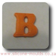 Alphabet B Silicone Mould