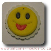 Small Smiley Face Cake Silicone Mold