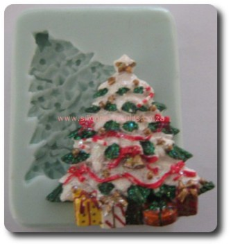 Christmas Tree Fondant Silicone Mould
