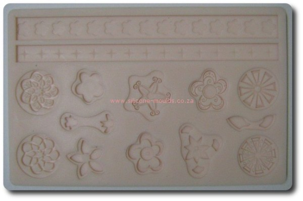 Floral Theme Silicone MOld
