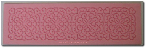 Small Rectangular Silicone Mold for Sugarveil