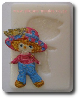 Stawberry Silicone Mould Full Body