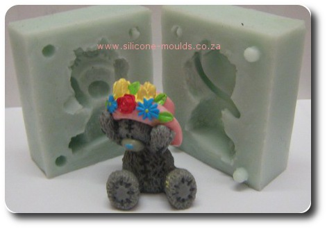 Tatty Teddy Silicone Mold 3 D