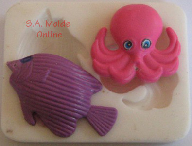 Octopus and Fish set