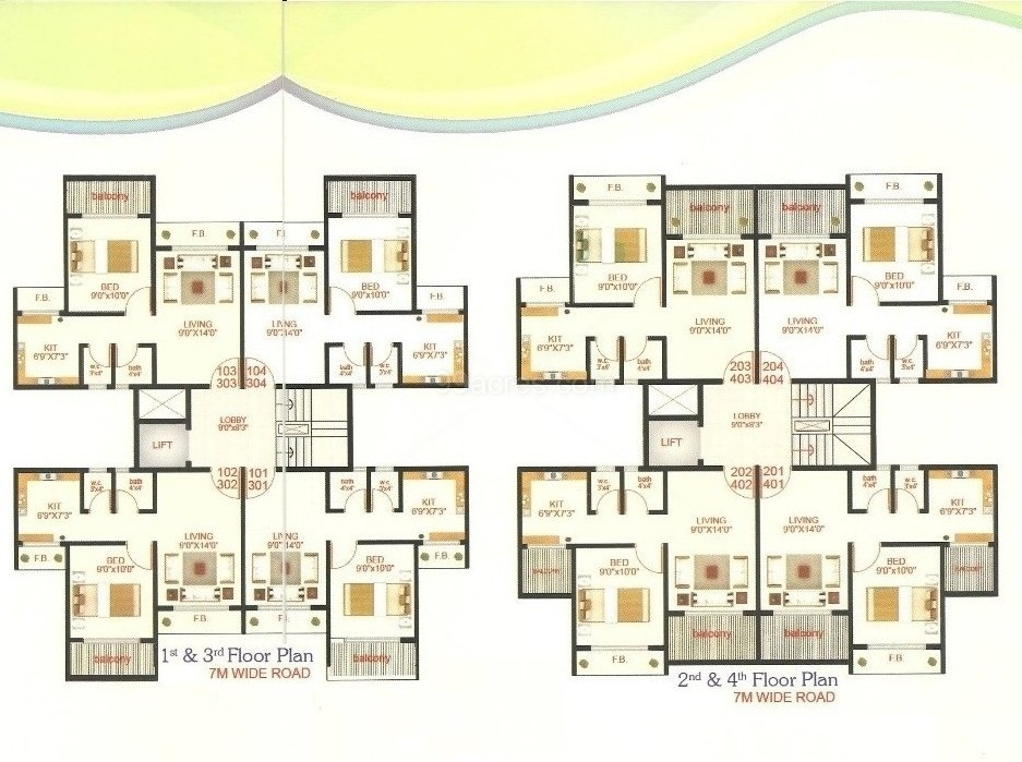 Shree Platinum Park 1 BHK New Residential Apartment For