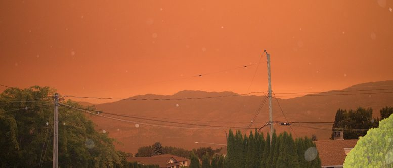 Smoke in the Okanagan