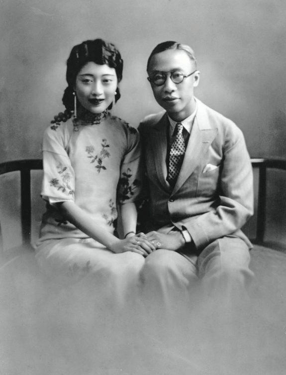 Wanrong and Puyi in Tianjin