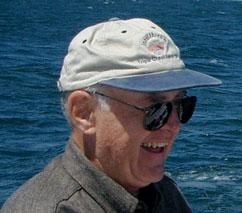 Gordon Moore photo by Steve Jurvetson from Menlo Park, USA - Moore Fish, CC BY 2.0