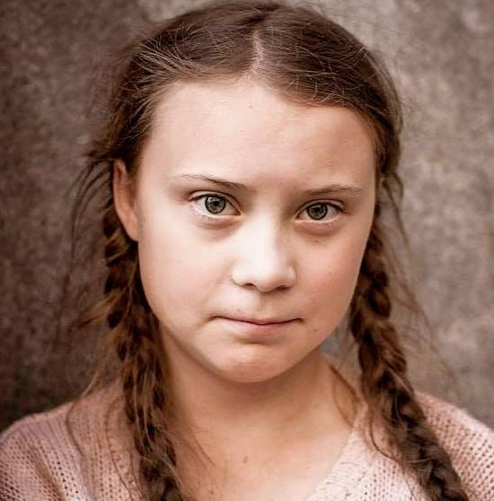 Greta Thunberg of Fridays For Future