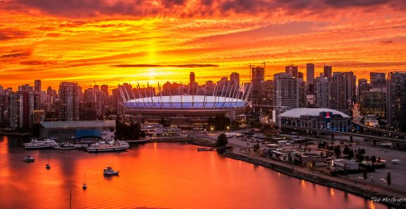 Vancouver Sunset 2015