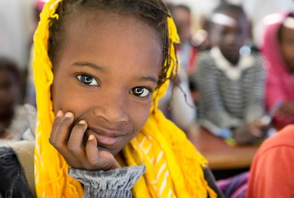 Girl from Nouakchott, Mauritania