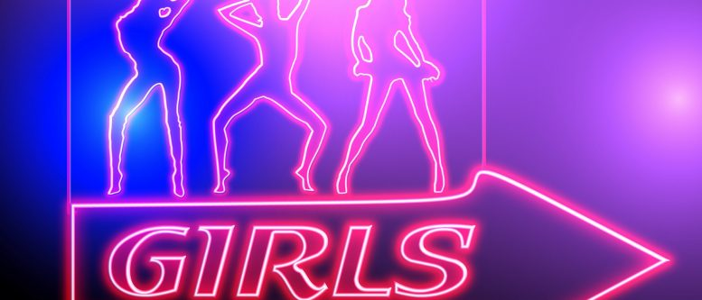 neon girls sign