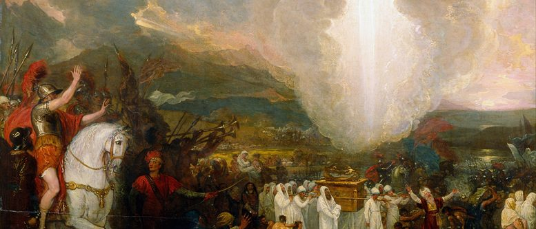 Benjamin West - Joshua passing the River Jordan with the Ark of the Covenant