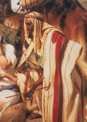 Portrait of Yehuda (Judah), son of Jacob (oil on canvas)