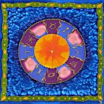(13) Astrological Emanations in Blue very lores