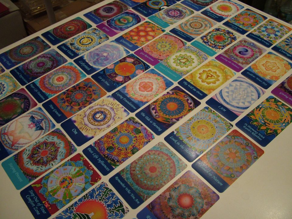 Mandala oracle deck sea of calm