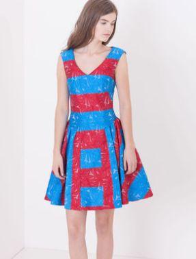 dress jacquard