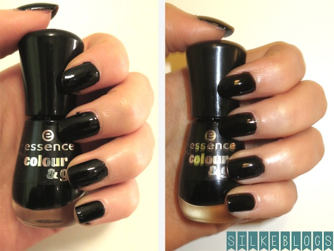 Essence Colour & Go 144 - Black is Back zonder flits - met flits