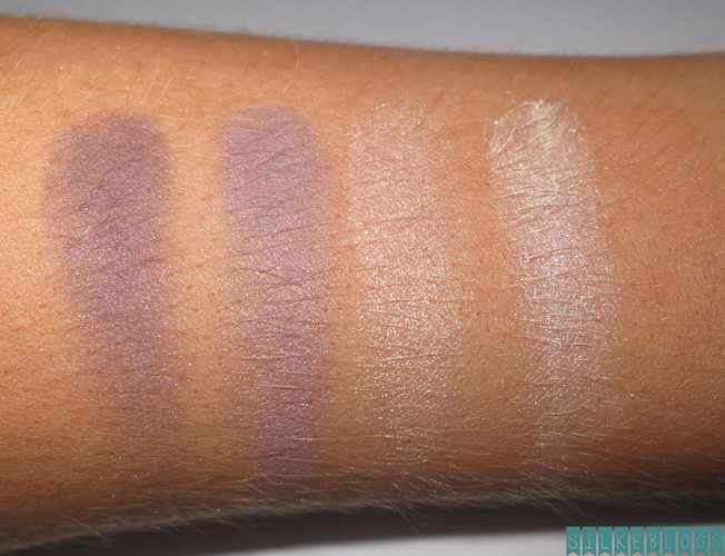 NYC Quattro Eye Shadow 821 - NY Tribute Swatches op mijn arm - met flits