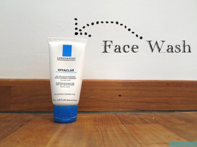 Stap 2: face wash