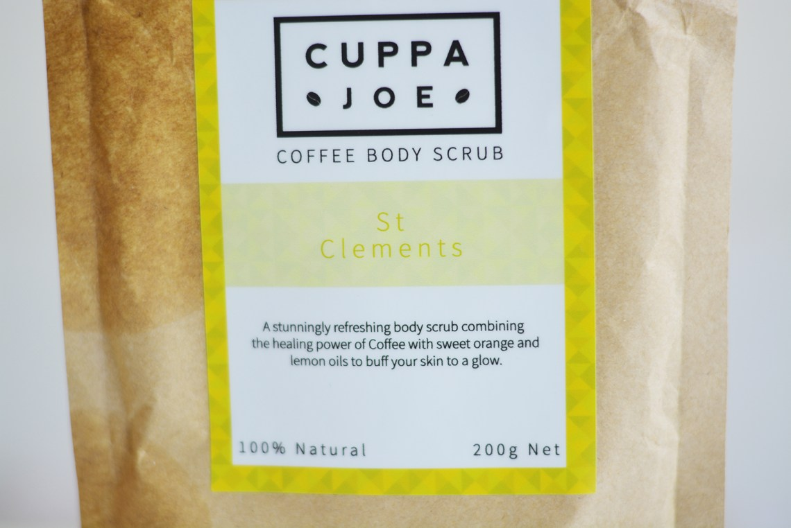 Cuppa Joe Coffee Body Scrub