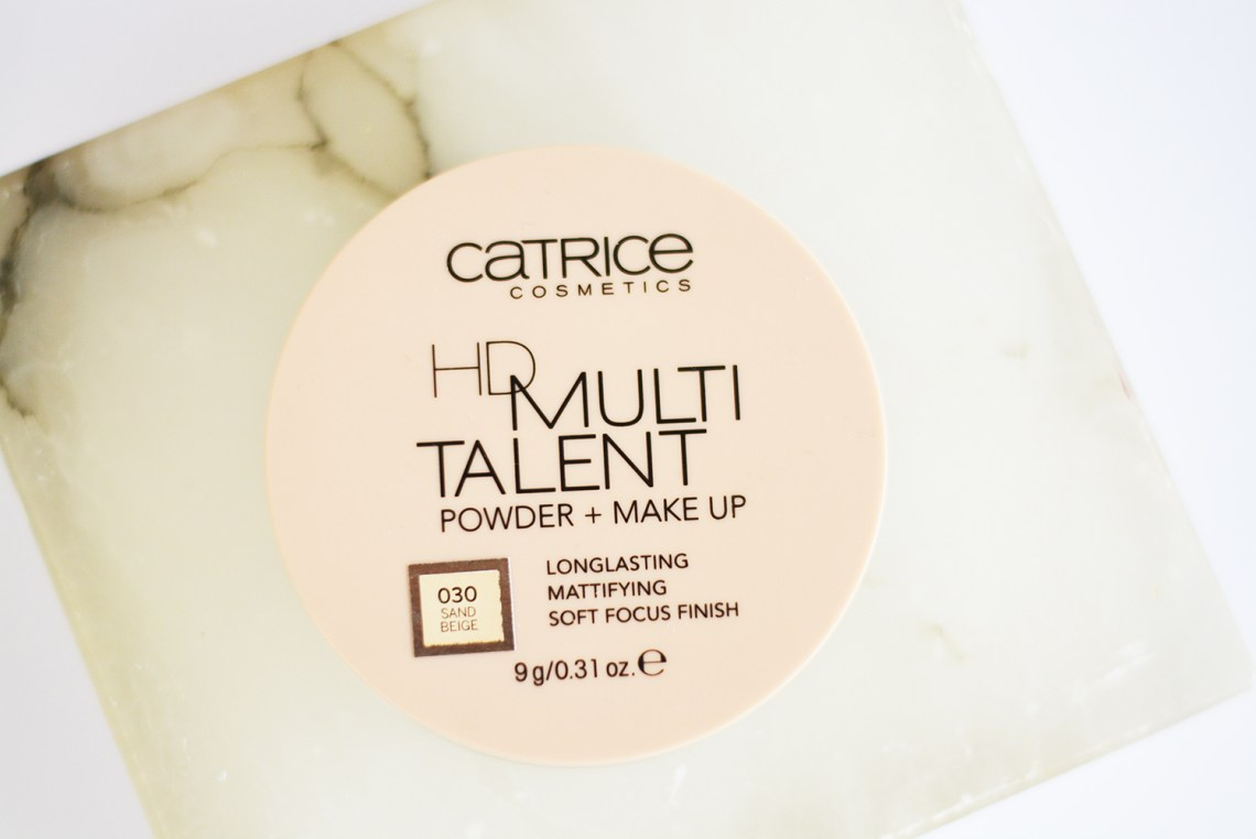 CATRICE HD Multitalent Powder + Makeup