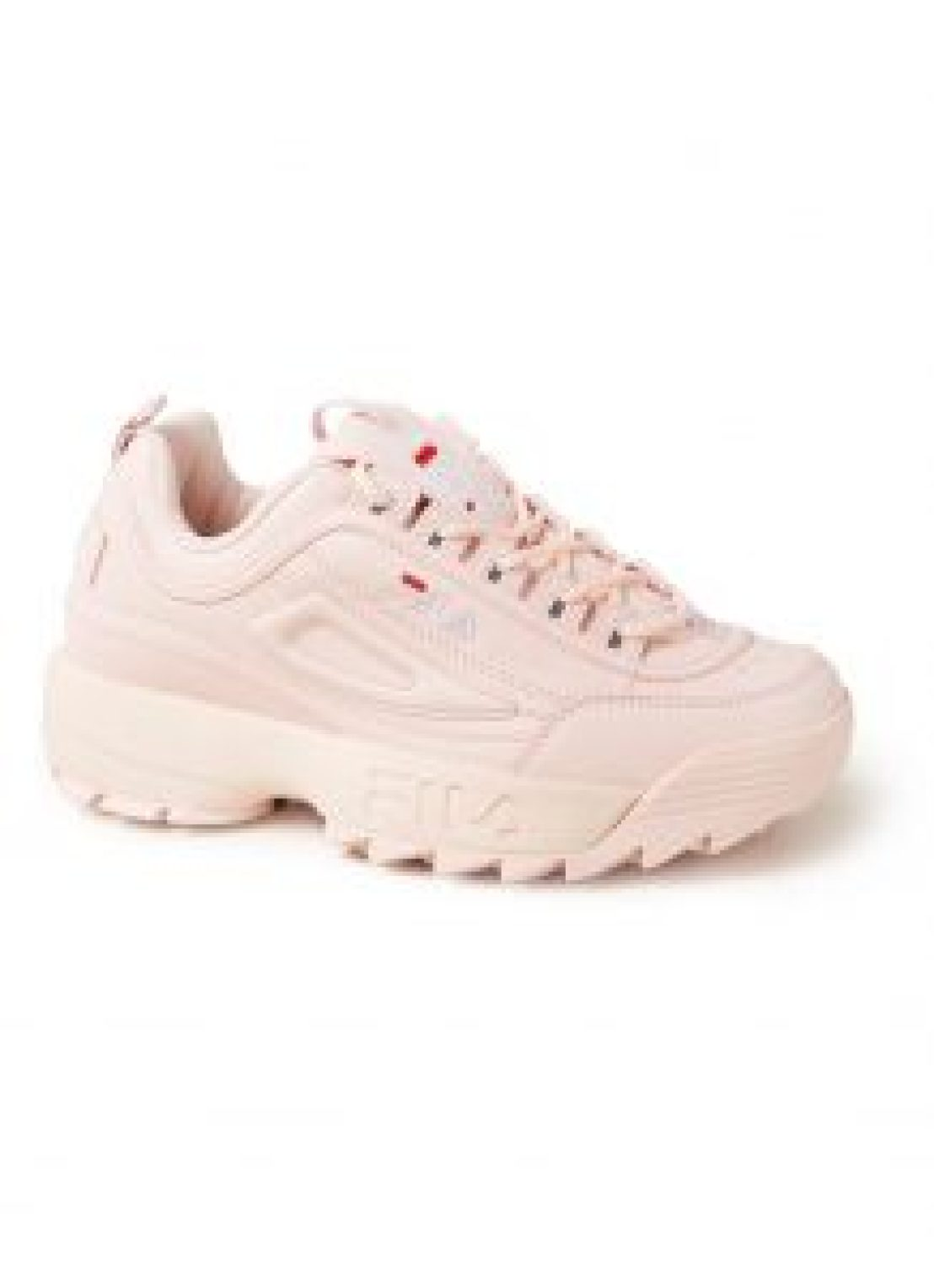 Roze chunky sneakers