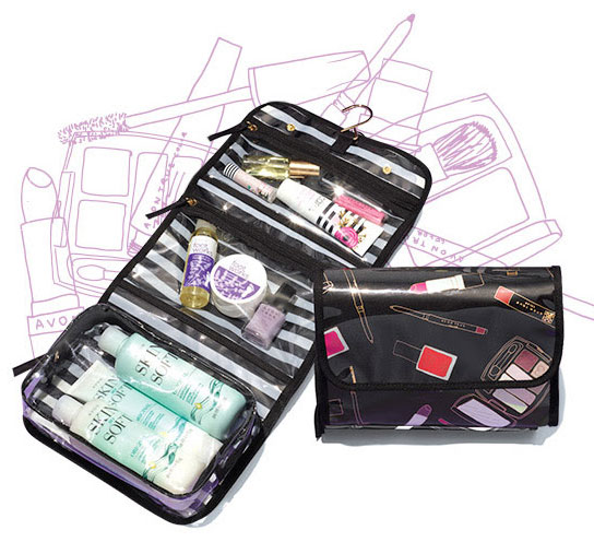 Travel Toiletry Case By Avon
