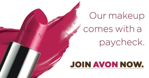 Makeup with a paycheck - Learn how to sell Avon online